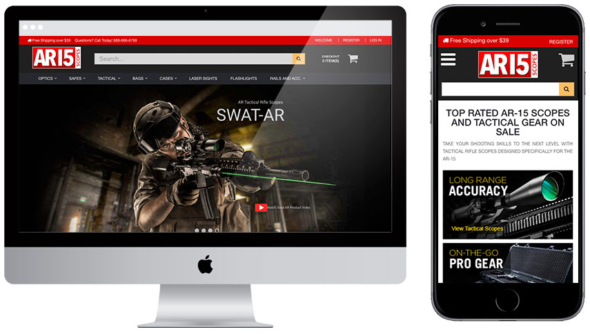 Ar15 Scopes Website Development